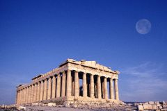 The Parthenon in the Athenian Acropolis