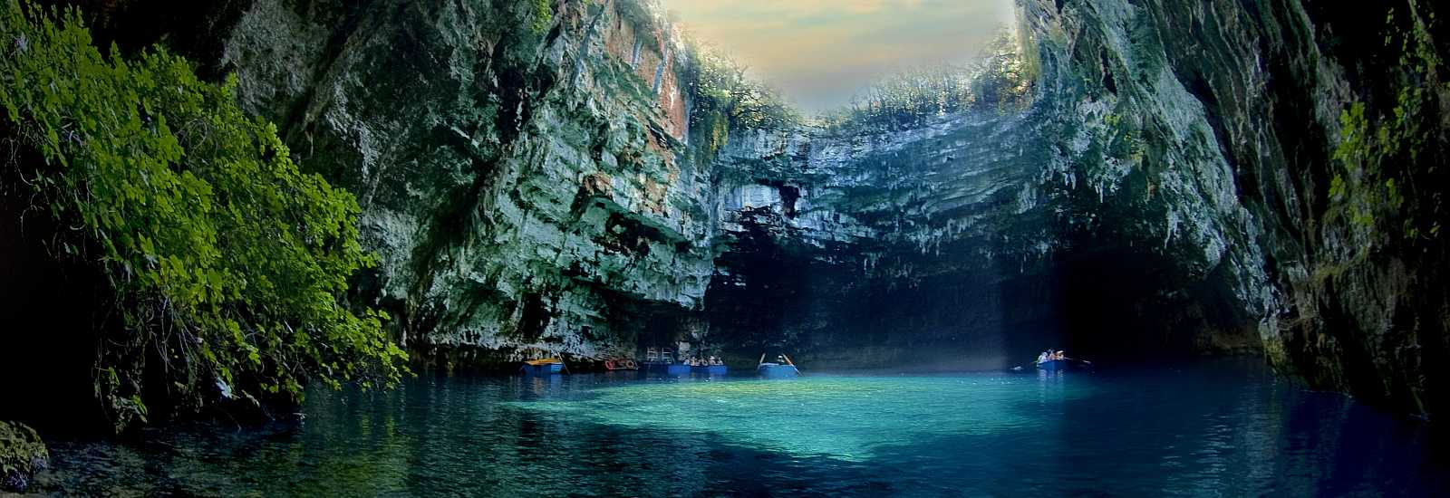 Cave of Melissani<span>Kefalonia, Greece</span>